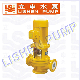IGF型氟塑料合金立式管道泵