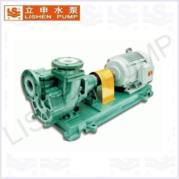 UHB-ZK型耐磨耐腐蚀氟塑料砂浆泵